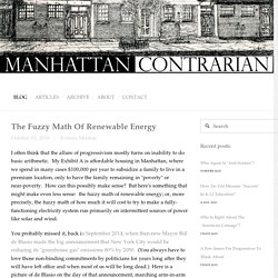 The Fuzzy Math Of Renewable Energy — Manhattan Contrarian