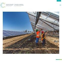Réels retours du renouvelable - Canadian Renewable Energy Association