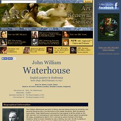 Artist Information for John William Waterhouse