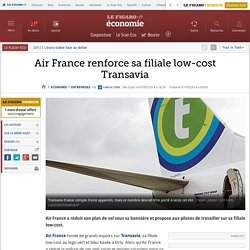 Air France renforce sa filiale low-cost Transavia