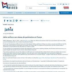 Jahia renforce son réseau de partenaires en France