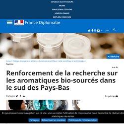 Renforcement de la recherche sur les aromatiques bio-sourcés dans le sud des Pays-Bas