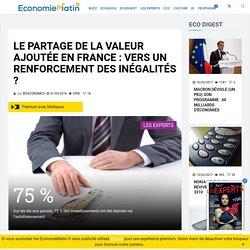 Le partage de la valeur ajoutée en France : vers un renforcement des inégalités ?