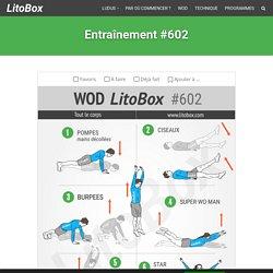 HIIT renforcement musculaire Litobox à la maison #602