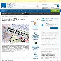 Comment les CCAS renforcent l'accès aux soins
