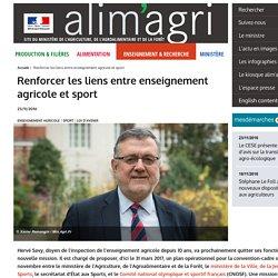 Renforcer les liens entre enseignement agricole et sport