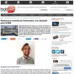 Renforcer le contrôle de l'information, une nécessité pour le BIM : 09/12/16