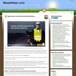 Renforcer la sécurité de WordPress