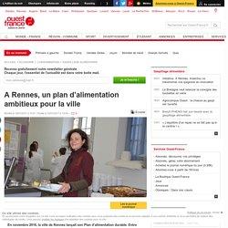 A Rennes, un plan d'alimentation ambitieux pour la ville