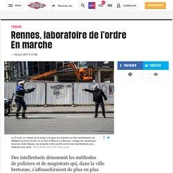 (20+) Rennes, laboratoire de l'ordre Enmarche