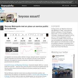 Rennes Metropole Met En Place Un Service Public De La Donnée