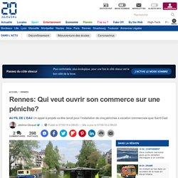 Rennes: Qui veut ouvrir son commerce sur une péniche?