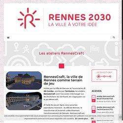 Les ateliers RennesCraft - Rennes 2030Rennes 2030