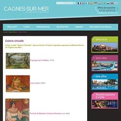 Musée Renoir, la Galerie Virtuelle