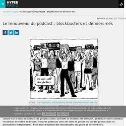 Le renouveau du podcast : blockbusters et derniers-nés.