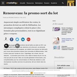 Renouveau: la promo sort du lot - E-marketing.fr