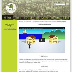 Les énergies fossiles - énergie renouvelable et développement durable - CEDER