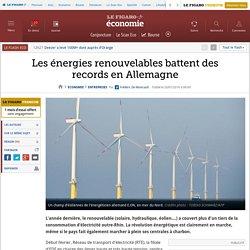 Les énergies renouvelables battent des records en Allemagne