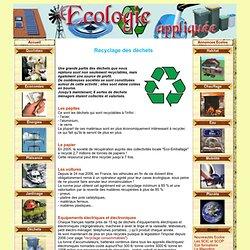 ECO-HABITAT et ECO-CONSOMMATION, ECOGESTES, ECO-ATTITUDE, ENERGIES RENOUVELABLES et ENVIRONNEMENT