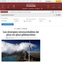 Les énergies renouvelables de plus en plus plébiscitées