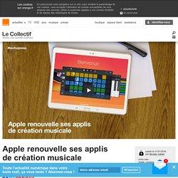 Apple renouvelle ses applis de création musicale