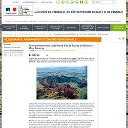 Renouvellement du label Grand Site de France de Bibracte – Mont Beuvray