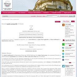 proposition de résolution sur le renouvellement du régime fiscal applicable au rhum traditionnel des départements d'outre-mer
