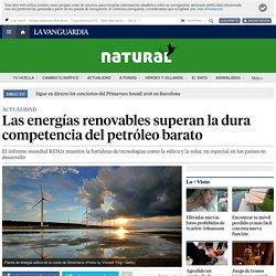Las energía renovables superan la dura competencia del petróleo barato: Informe REN21 de 2016