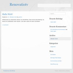 renoVatio Tv