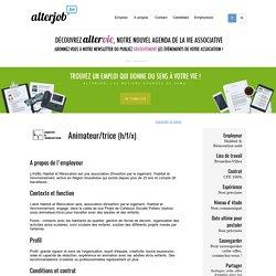 Habitat & Rénovation asbl - Animateur/trice - Alterjob.be