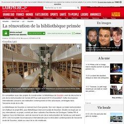 La rénovation de la bibliothèque primée - 13/11/2014