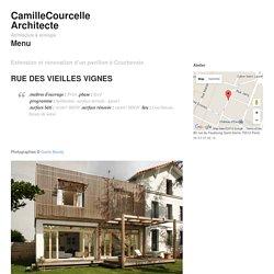 Extension et rénovation d'un pavillon à Courbevoie