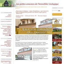 Rénovation écologique - retour d'expérience : oser rénover le plus écologiquement possible une maison d'après-guerre [Interview]