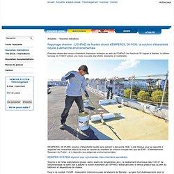 Rénovation étanchéité de toiture-terrasse EPHAD