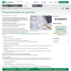 Financer ses projets de rénovation - CoopMoi publication