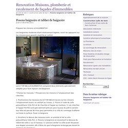 Posons baignoire et tablier de baignoire - Renovation Maisons, plomberie et ravalement de façades d'immeubles