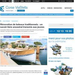 Rénovation bateaux traditionnels