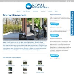 Exterior Home Renovations in Toronto