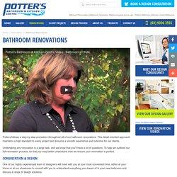 Bathroom Renovations Melbourne, Essendon, Maribyrnong and Ascot vale - Potter's Bathroom & Kitchen Centre Melbourne