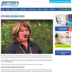 Kitchen Renovations Melbourne - Potter's Bathroom & Kitchen Centre Melbourne