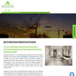 Best Budgeted Bathroom Renovations Services in Melbourne