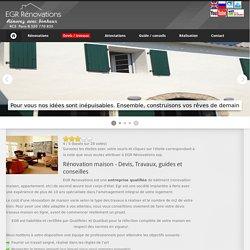 EGR Rénovations - Modérnisation et rénovation maison, luxe et haut de gamme, devis travaux maison
