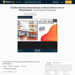Thrifty Kitchen Renovations at Never Before Cost in Birmingham