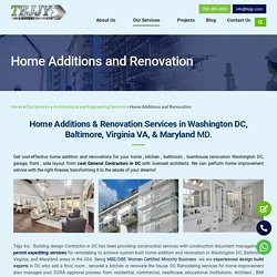 Best home Remodeling Service in Washington DC