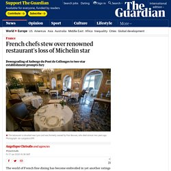 stew over loss of michelin star