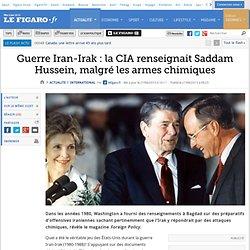 Guerre Iran-Irak : la CIA renseignait Saddam Hussein, malgré les armes chimiques