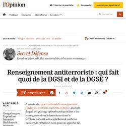 Renseignement antiterroriste : qui fait quoi de la DGSI et de la DGSE ?