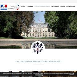 L'académie du renseignement - La coordination nationale du renseignement