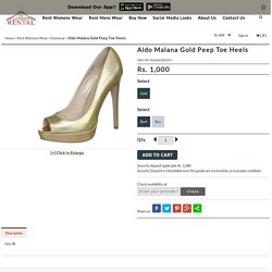 Rent Aldo Peep Toe Heels