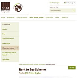 Rent to Buy Scheme - BSHF